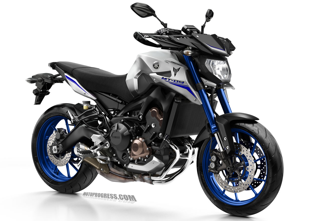 yamaha mt 09 street rally 2016 fiche technique. Black Bedroom Furniture Sets. Home Design Ideas
